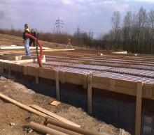 Základová deska Litvínov -  Základová deska pro dřevostavbu.