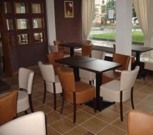 Interiér cukrárny v Teplicích -  Rekonstrukce cukrárny v Litvínově.